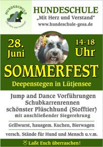 Plakat sommerfest 2014